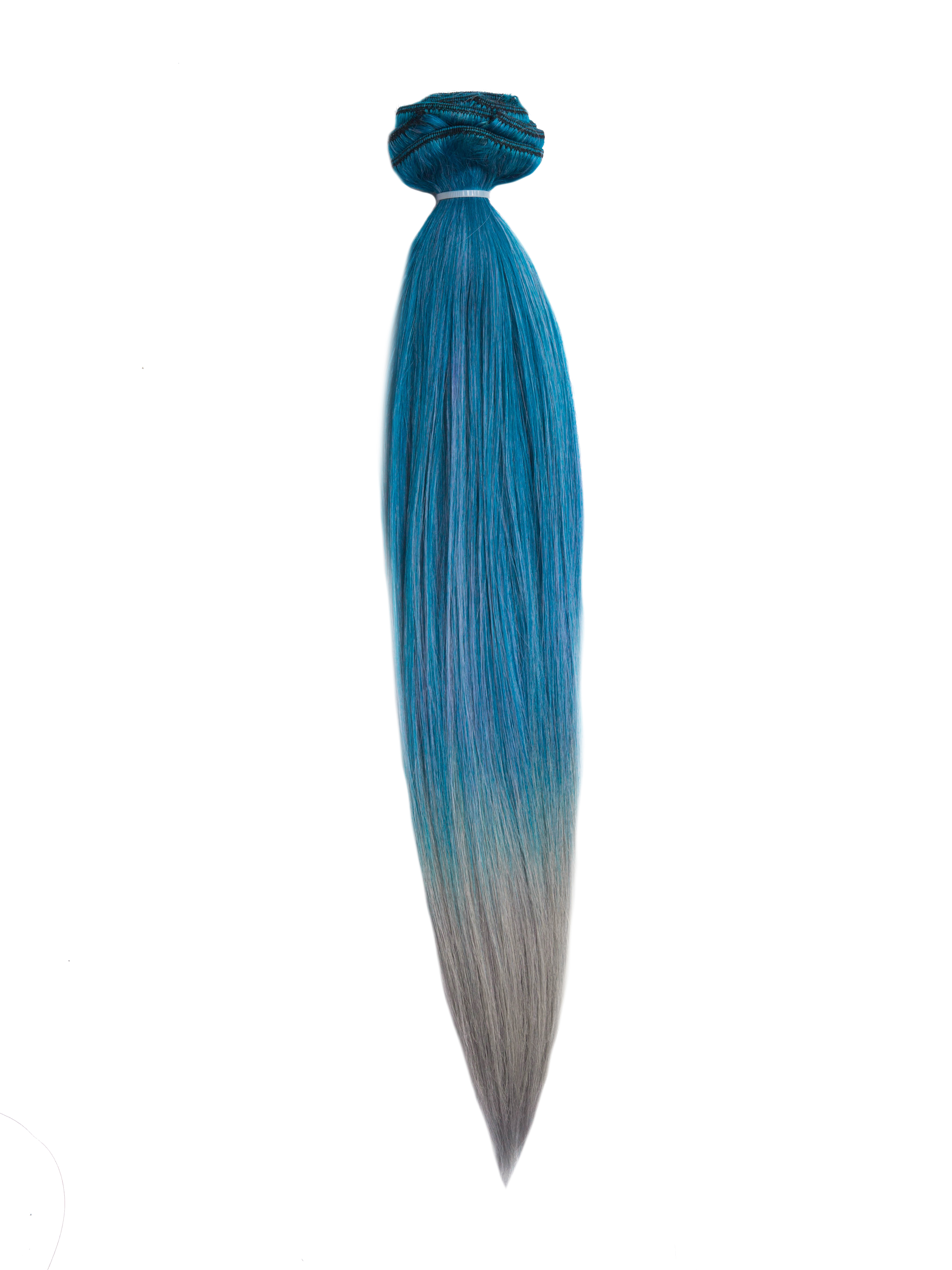 55cm 220g Mixdyeable Clip in Farbig Sale Extensions HHF-B19