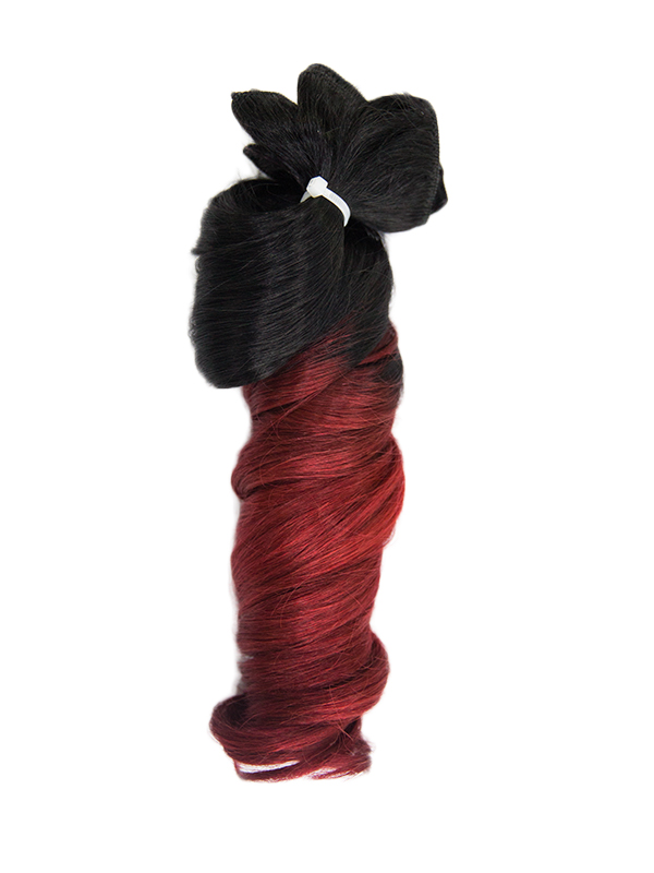 60cm 125g Echthaar Clip in Farbig Sale Extensions TP-24