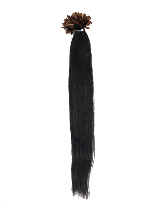 50cm 125g Echthaar Bondings Einfarbig Sale Extensions XP-26