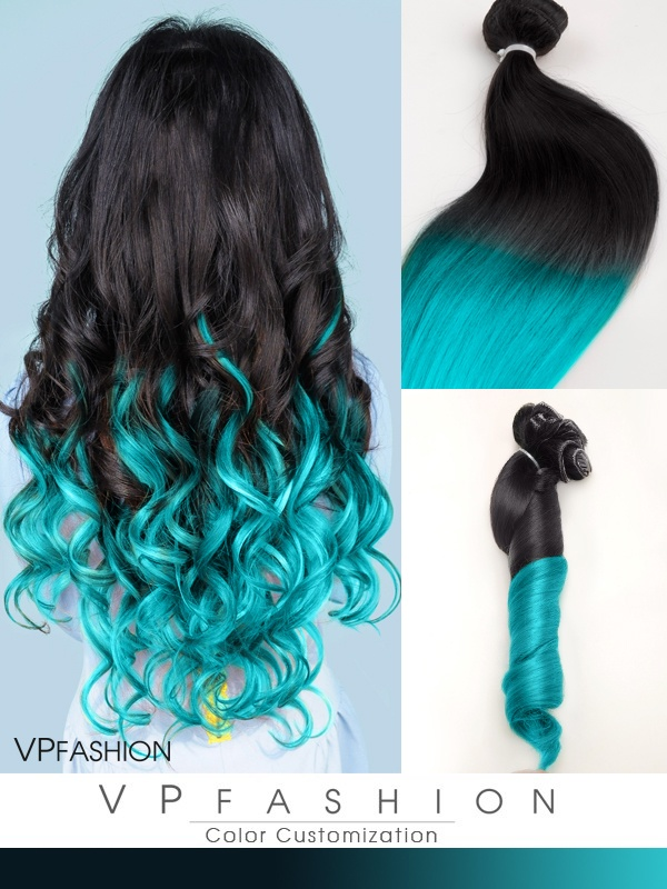 Vpfashion Fashion Farbige Remy Clip in Extensions C029