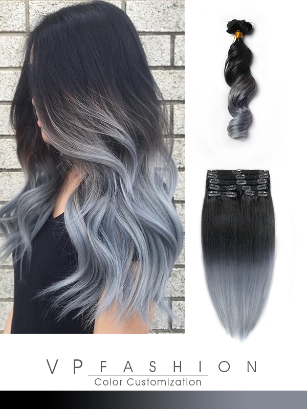 Farbenfrohe ... Ombre Highlights For Dark Brown Hair