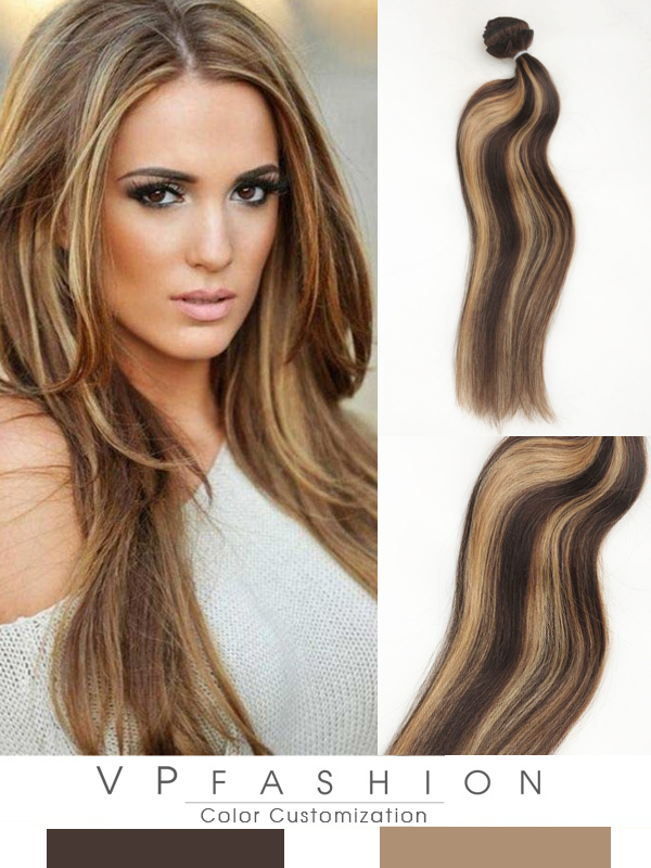 Highlights Remy Haar Extensions mit Clips gsm322