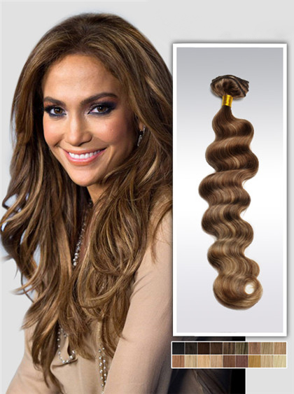 Highlights Remy Haar Extensions mit Clips gwm120