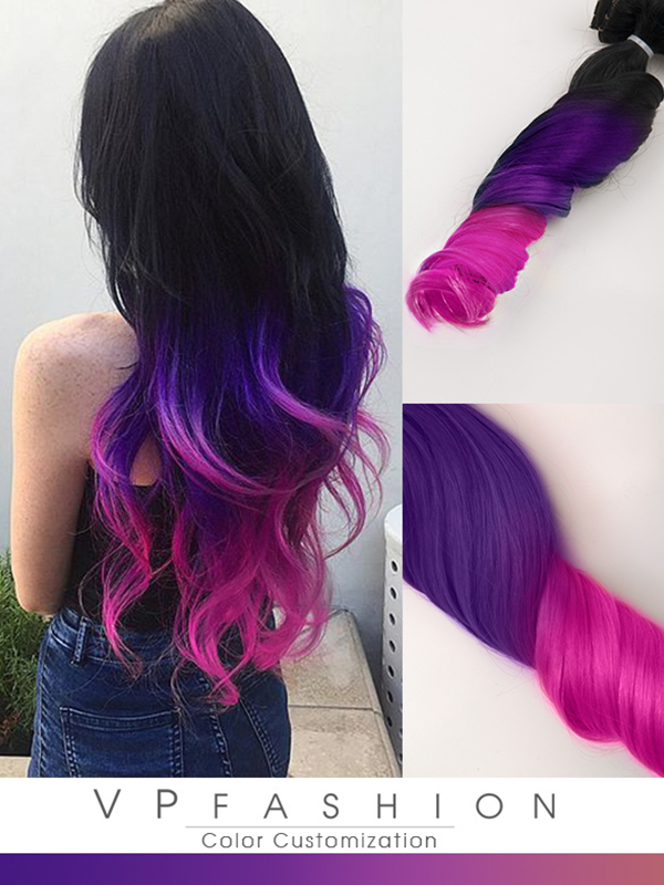 Black And Pink Ombre Hair Extensions Hair Extensions Richardson