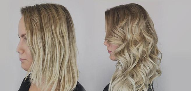 Haarverlängerung aus Echthaar mit hoher Qualität von de ...