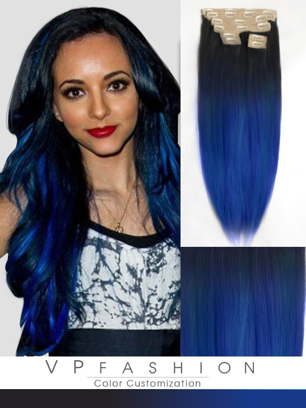 Vpfashion Echthaar Extensions mit Clips gso1722