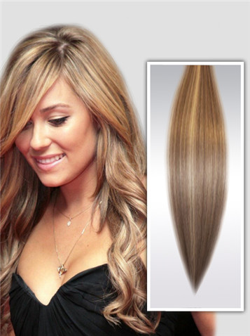 Highlights Remy Haar Extensions Clip in gwm320