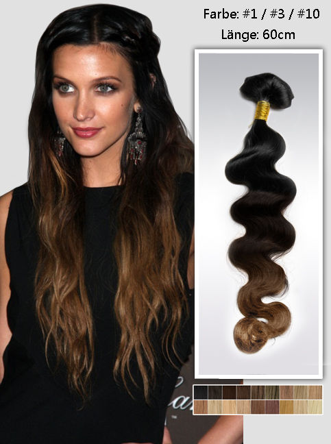 Vpfashion Echthaar Extensions mit Clips gwo1024