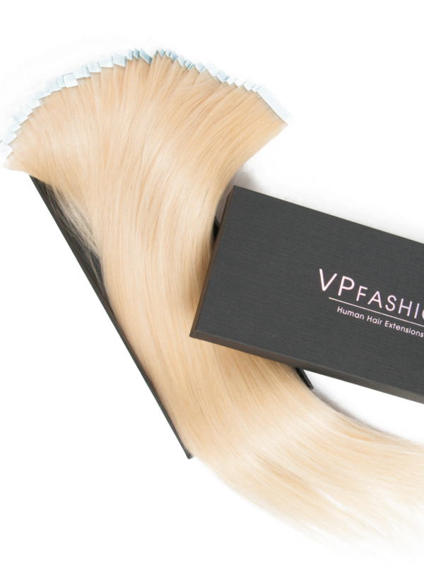 Vpfashion Tape in Echthaar Extensions Einfarbig/ Ombre/ Farbig TP001